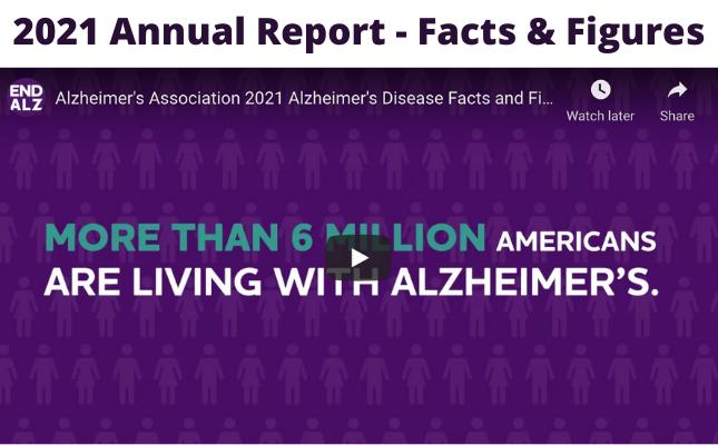 Alzheimer's Association 2021 Alzheimer's Disease Facts and Figures