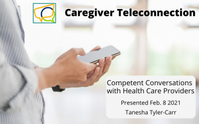 Competent Conversations with Health Care Providers