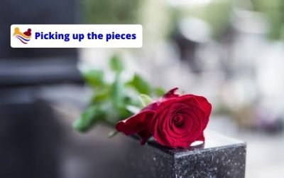 Picking up the pieces after the one you are caring for dies
